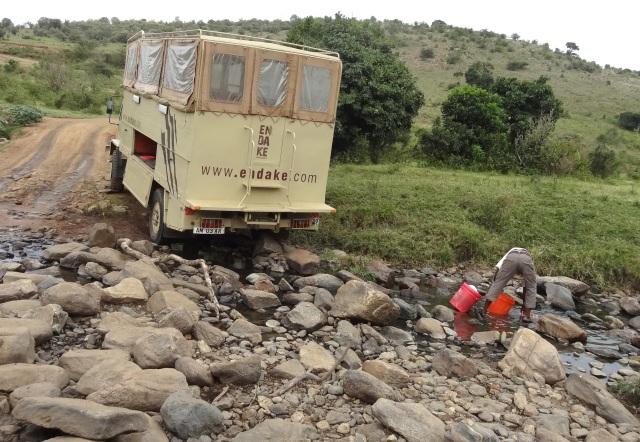 Masai Mara - roads