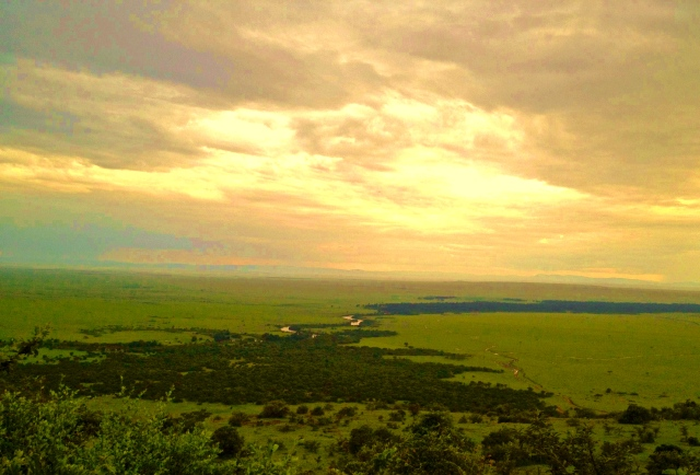 Mara River from Siria Escarpment
